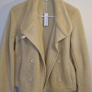 Jackets & Blazers - James Perse standard fleece jacket